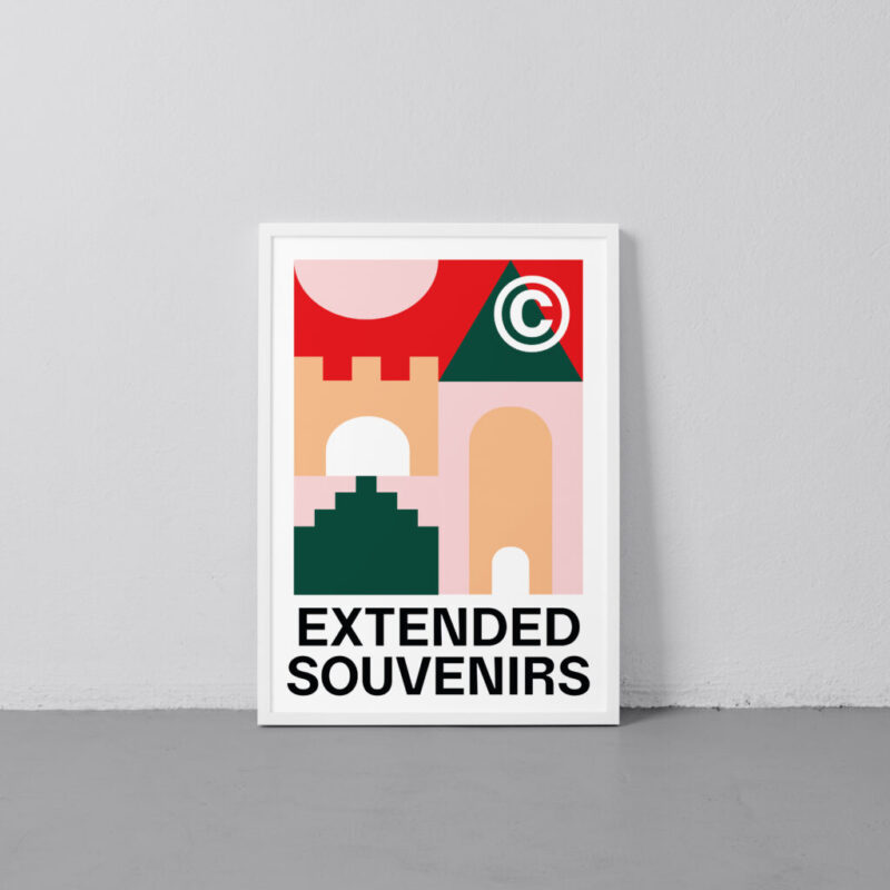 EXTENDED SOUVENIRS VISBY - Pink